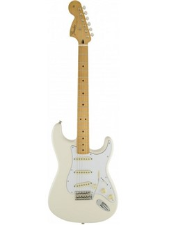 Fender: Jimi Hendrix Signature Stratocaster - Olympic White Instruments   Electric Guitar