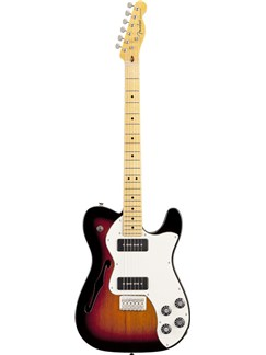 Fender: Modern Player Telecaster Thinline Deluxe (Sunburst) Instruments | Electric Guitar