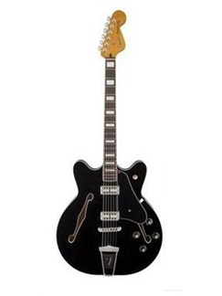 Fender: Coronado Electric Guitar - Black Instruments | Electric Guitar