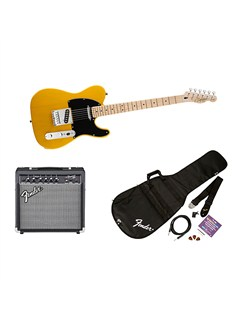 Squier: Affinity Telecaster Pack With Frontman 15G Amplifier (Butterscotch Blonde) Instruments | Electric Guitar