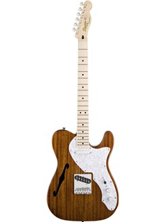 Squier: Classic Vibe Telecaster Thinline (Natural) Instruments | Electric Guitar