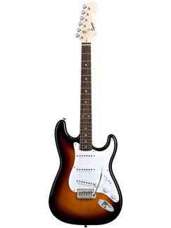 Squier: Bullet Strat - Rosewood Fingerboard (Sunburst Finish) Instruments | Electric Guitar
