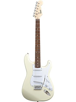 Squier: Bullet Strat - Rosewood Fingerboard (Arctic White Finish) Instruments | Electric Guitar