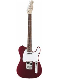 Squier: Affinity Series Telecaster 2013 - Metallic Red Instruments | Electric Guitar