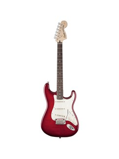 Squier Standard Stratocaster Electric Guitar: Crimson Red Instruments | Electric Guitar