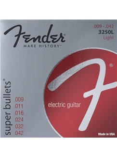 Fender: 3250L Super Bullet Electric Guitar Strings (.009-.042)  | Electric Guitar