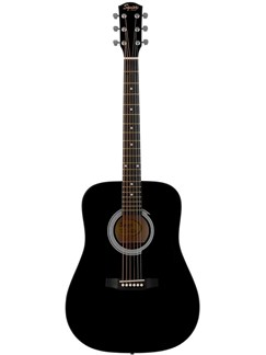 Squier: SA-105 Acoustic Guitar (Black) Instruments | Acoustic Guitar