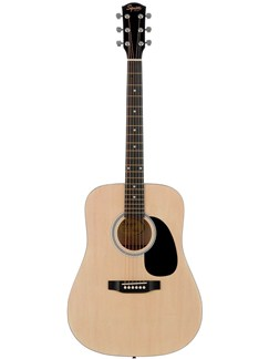 Squier: SA-105 Acoustic Guitar (Natural) Instrument | Guitare Acoustique