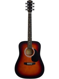 Squier: SA-105 Acoustic Guitar (Sunburst) Instruments | Acoustic Guitar