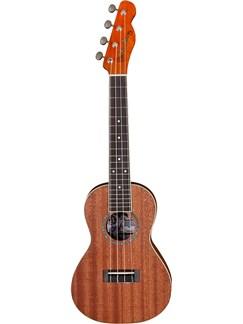 Fender: Mino'Aka Concert Ukulele  - Mahogany/Rosewood Fingerboard Instruments | Ukulele