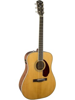 Fender: PM1 Paramount Standard Dreadnought Acoustic Guitar - Natural Instruments | Acoustic Guitar