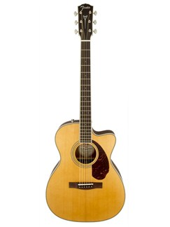 Fender: PM3 Paramount Standard 000 Folk Acoustic Guitar - Natural Instruments | Acoustic Guitar
