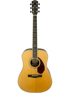 Fender: PM1 Paramount Deluxe Dreadnought Acoustic Guitar - Natural Instruments | Acoustic Guitar