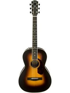 Fender: PM2 Paramount Deluxe Parlour Acoustic Guitar - Vintage Sunburst Instruments | Acoustic Guitar