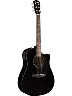Fender: CD60CE Electro-Acoustic Guitar - Black Sonokeling Instruments   Electro-Acoustic Guitar