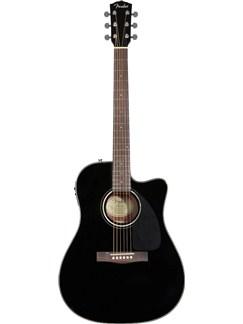 Fender: CD-140SCE Electro-Acoustic Guitar - Black (2011 Model) Instruments | Electro-Acoustic Guitar