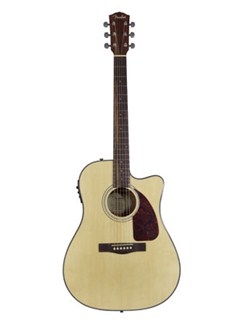 Fender: CD-140SCE Electro-Acoustic Guitar - Natural (2011 Model) Instruments | Electro-Acoustic Guitar