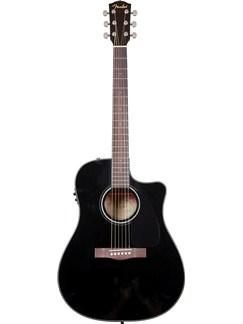 Fender: CD-60CE Electro-Acoustic Guitar - Black (2011 Model) Instruments | Electro-Acoustic Guitar