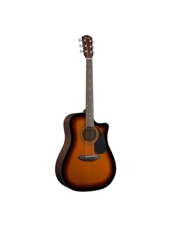 Fender: CD-60CE Electro-Acoustic Guitar (Mahogany/Sunburst) Instruments | Electro-Acoustic Guitar
