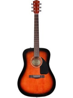 Fender: C60 Acoustic guitar (Mahogany/Sunburst) Instruments | Acoustic Guitar