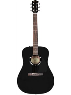 Fender: CD-60 Classic Design Acoustic Guitar - Black (2011 Model) Instrument | Guitare Acoustique