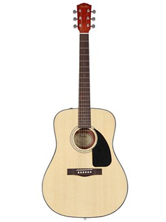Fender: CD-60 Classic Design Acoustic Guitar - Natural (2011 Model) Instruments | Acoustic Guitar