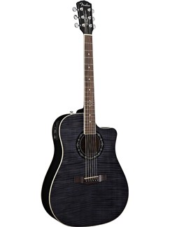 Fender: T-Bucket 300 CE Electro-Acoustic Guitar - Transparent Black/Rosewood Instruments | Electro-Acoustic Guitar