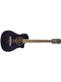 Fender  T-Bucket 200CE Folk Electro-Acoustic Guitar: Black Instruments |