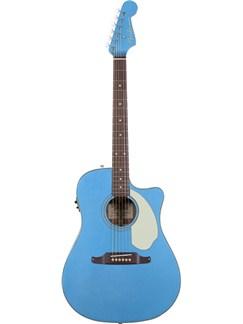 Fender: Sonoran SCE Electro-Acoustic Guitar - Lake Placid Blue Instruments | Electro-Acoustic Guitar