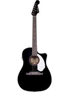 Fender: Sonoran SCE Electro-Acoustic Guitar - Black Instruments | Electro-Acoustic Guitar