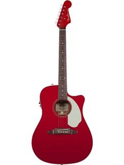 Fender: Sonoran SCE Electro-Acoustic Guitar - Candy Apple Red Instruments | Electro-Acoustic Guitar