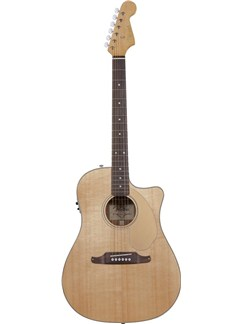 Fender: Sonoran SCE Electro Acoustic Guitar - Natural V2 Instruments | Acoustic Guitar