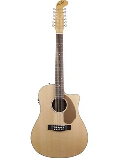 Fender: Villager 12-String Electro-Acoustic Guitar - 2012 Model Instruments | Electro-Acoustic Guitar, 12-String Guitar