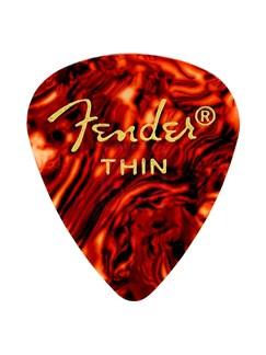 Fender: 351 Shape Guitar Pick Pack - Shell Thin (12 Pack)  |