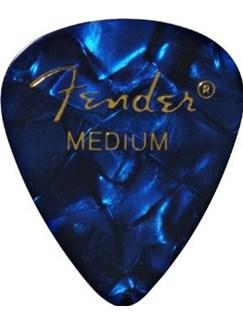 Fender: 351 Shape Guitar Pick Pack - Moto Blue Medium (12 Pack)  |