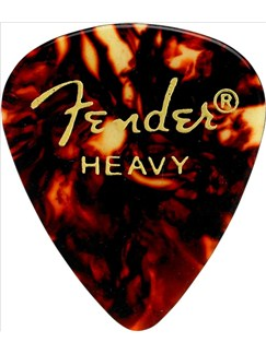 Fender: 351 Shape Guitar Pick Pack - Shell Heavy (12 Pack)  | Guitar