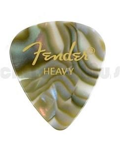Fender: 351 Shape Guitar Pick Pack - Abalone Heavy (12 Pack)  |