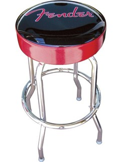 Fender: Logo Barstool (Red/Black)  |