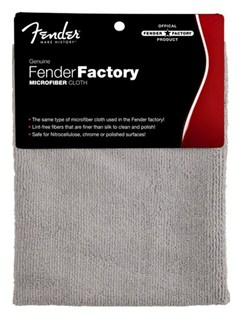 Fender: Factory Microfibre Polish Cloth  |