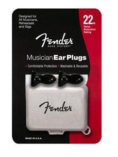 Fender: Musicians Series Foam Ear Plugs Black  |