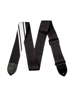 Fender: 2015 Competition Guitar Strap - Black With Silver  |
