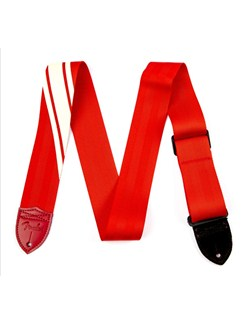 Fender: 2015 Competition Guitar Strap - Red With Cream  |