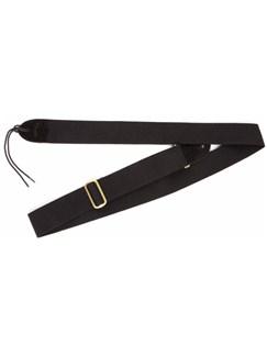 "Fender: 2"" Cotton/Leather Strap With Fender Logo - Black  | Guitar"