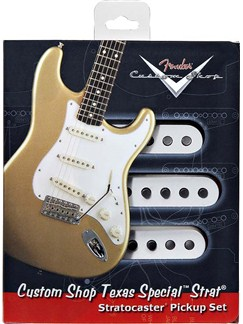 Fender: Custom Shop Texas Special Stratocaster Pickup Set    Electric Guitar