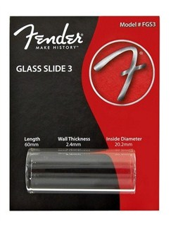 Fender: Glass Slide 3 - Thick Medium  |