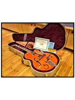 Gretsch: G6120DSW-R Chet Atkins Relic Instruments | Semi-Acoustic Guitar