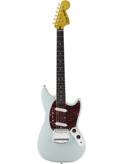 Squier: Vintage Modified Mustang - Sonic Blue Instruments | Electric Guitar