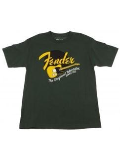 Fender: Original Tele Green T-Shirt - X Large  |
