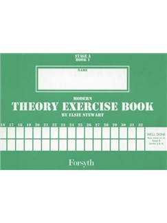 Modern Theory Exercise Book: Stage A Book 1 Books | All Instruments