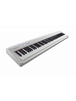 Roland: FP30 Digital Piano - White Instruments | Digital Piano